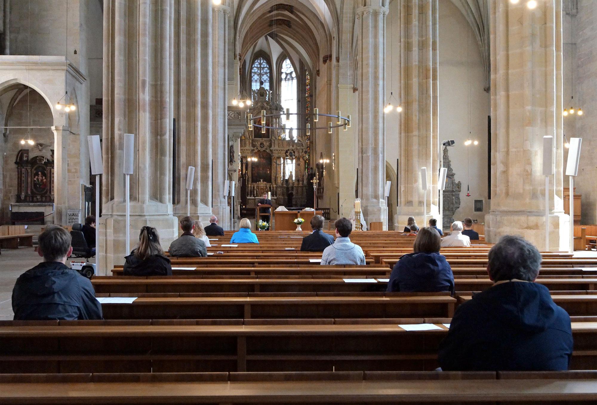 Pfarreien beginnen wieder mit Präsenzgottesdiensten