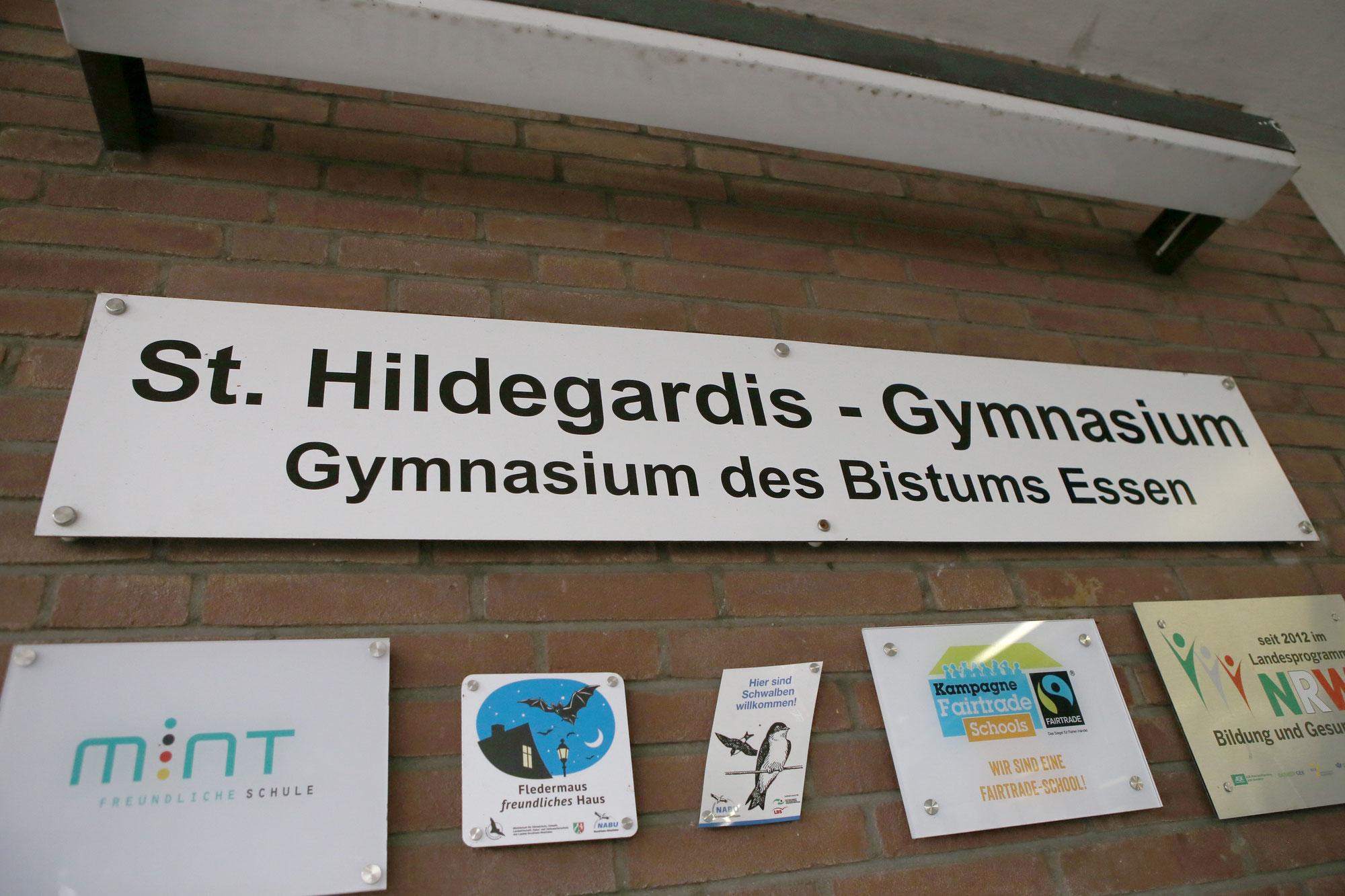 """St. Hildegardis- Gymnasium zeigt sich """"sozial in der Krise"""""""