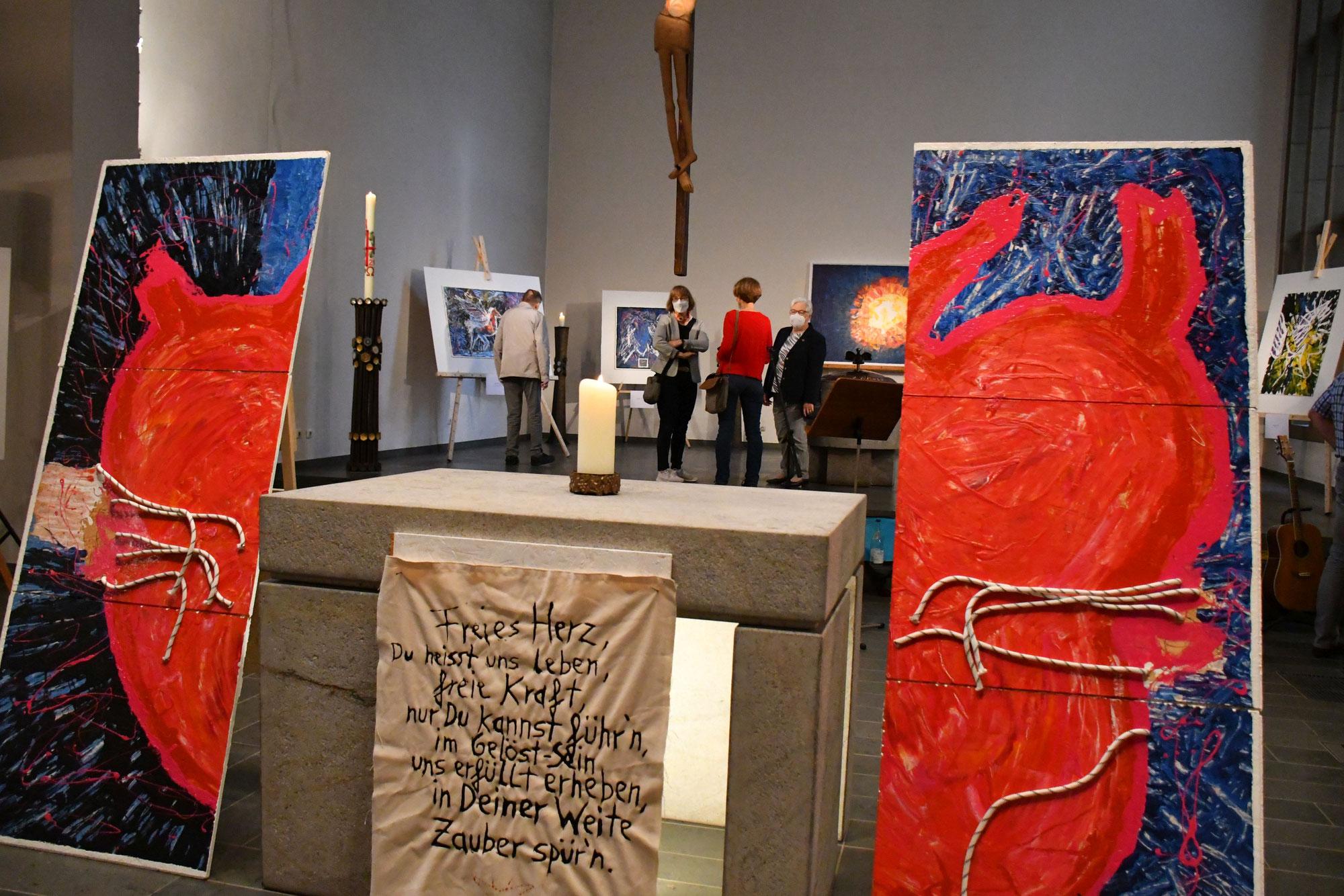 Experimentelle Kirche aus St. Judas Thaddäus lädt zur Kunstausstellung