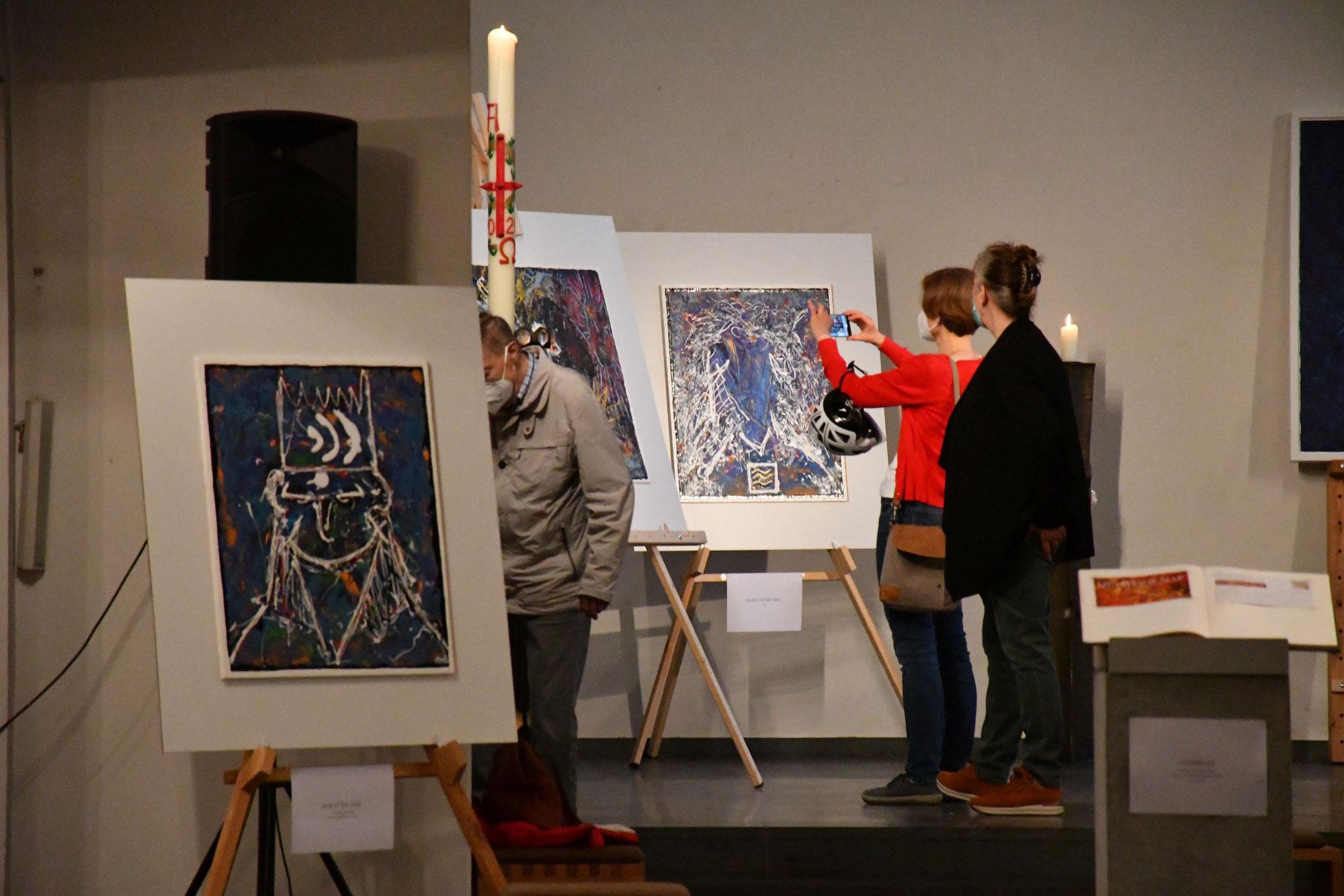 Kunstausstellung LICHTEINFÄLLE läuft noch bis 26. Juni