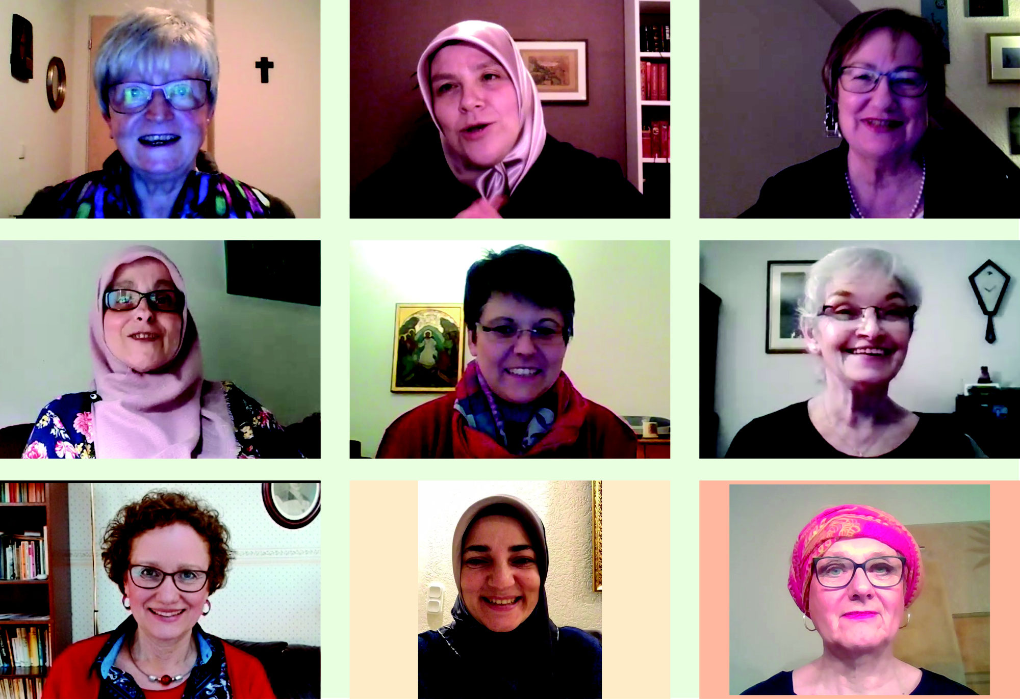 Frauen aller Länder machen sich im Netz gegenseitig Mut