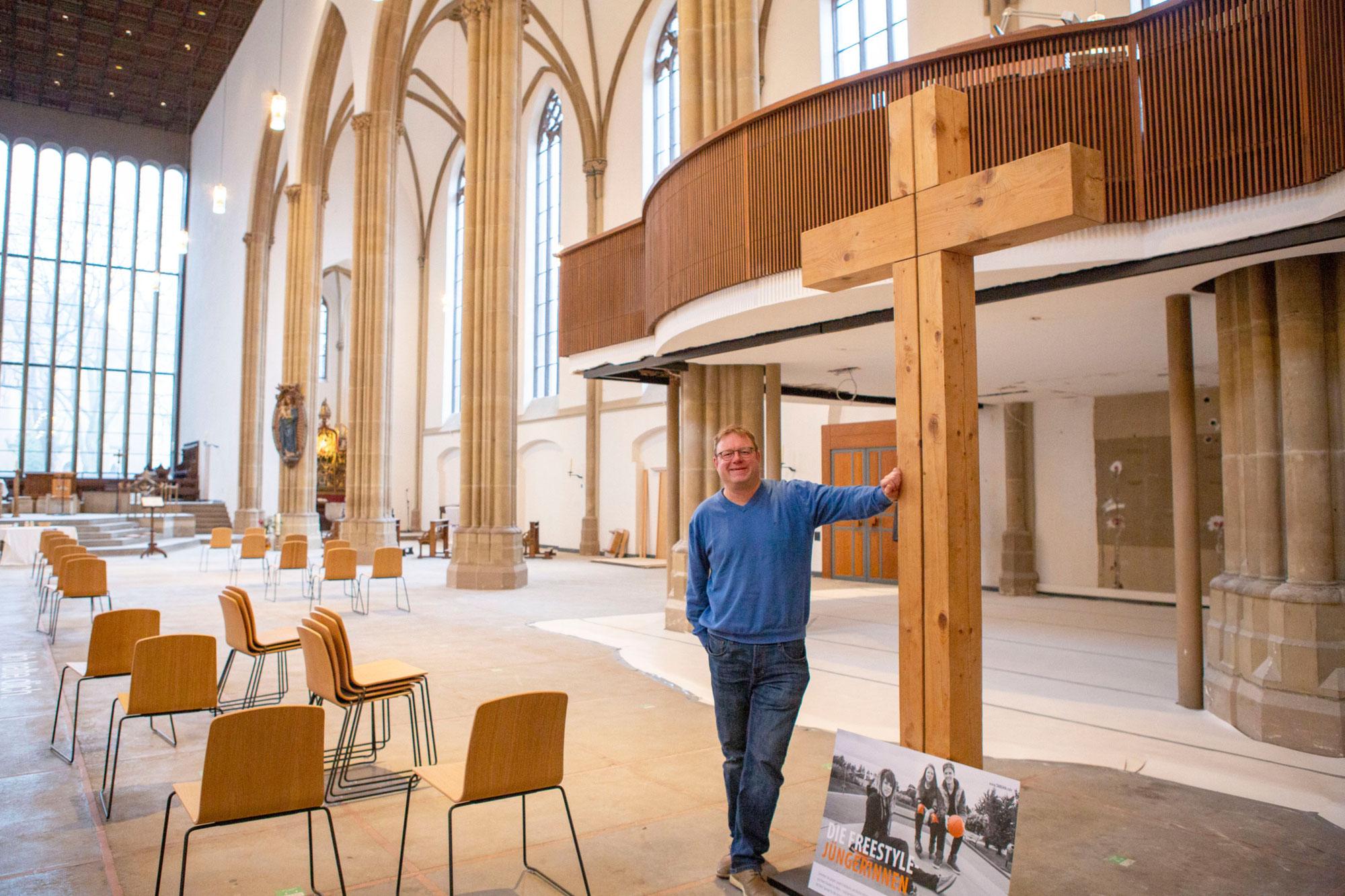 Jugendkirche Tabgha zwischen Baustelle und Online-Aktionen