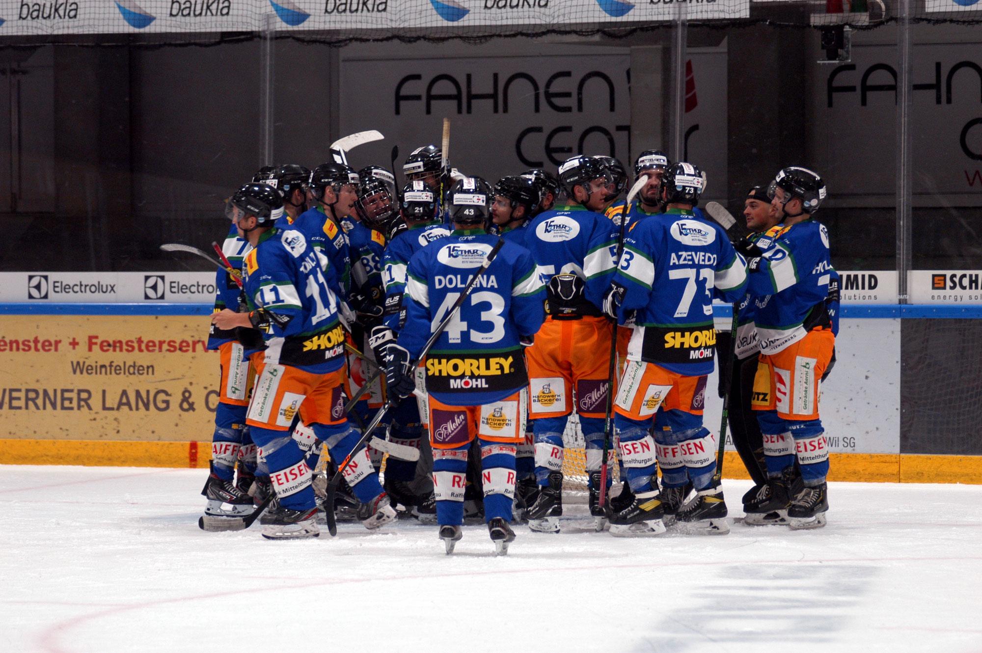 1. Saisonsieg – SCW gewinnt das Derby gegen Kreuzlingen-Konstanz