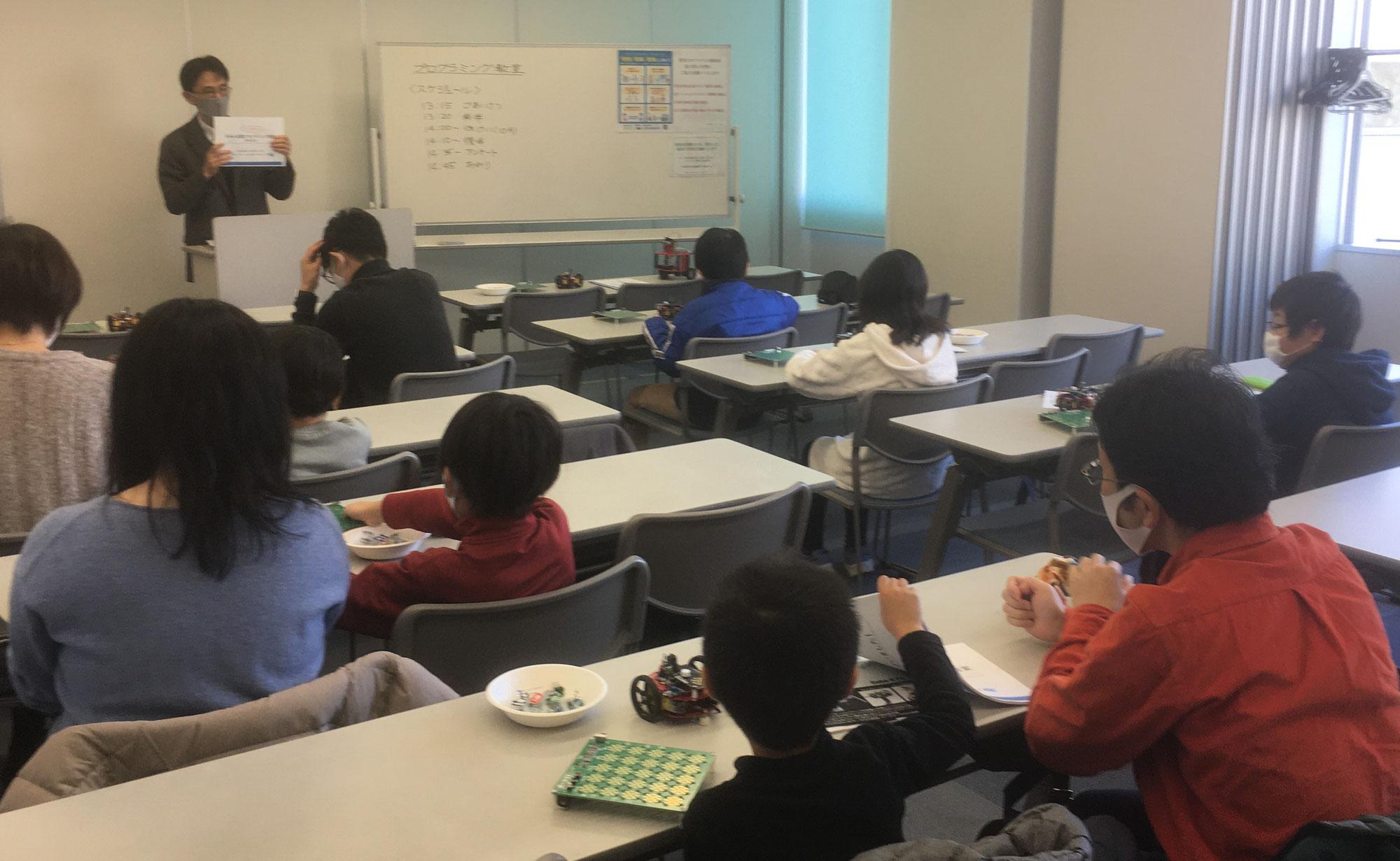 プログラミング教室を開催してみました!