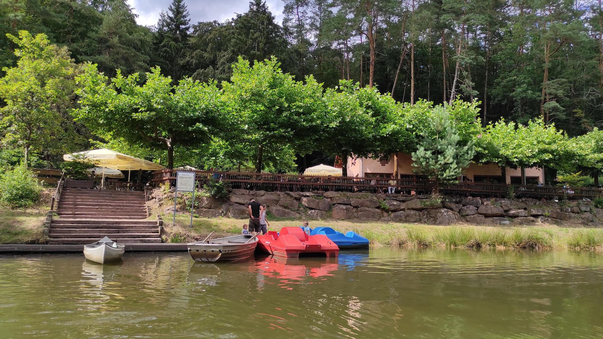 Paddelweiher in Hauenstein