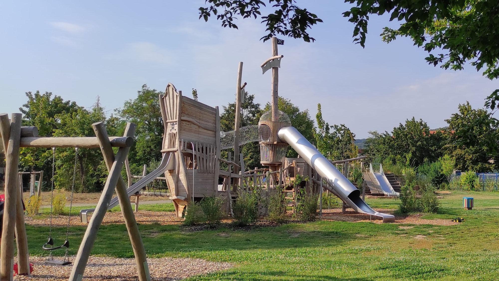 Die Wachrem - Piraten-Spielplatz