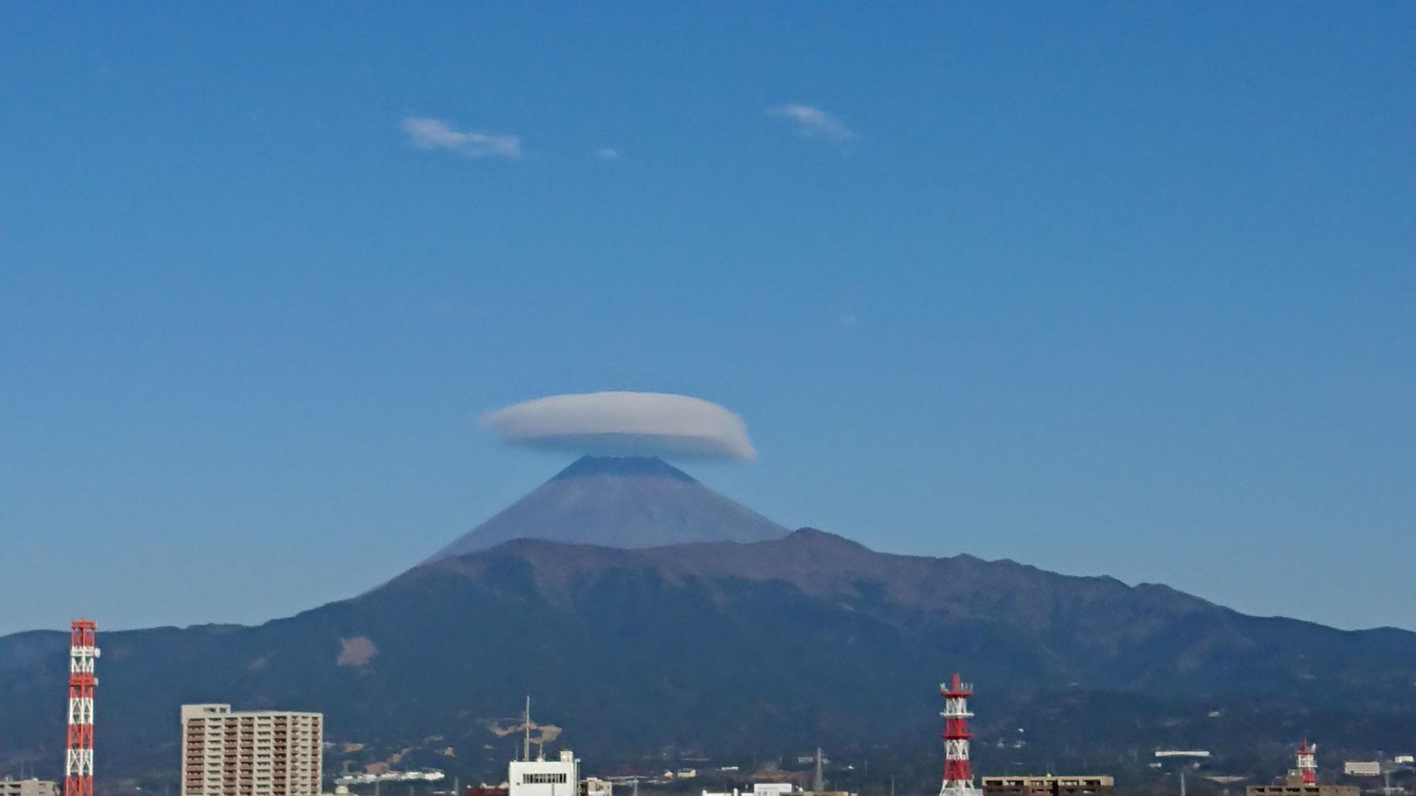 【沼津整体】みふじ 本日の富士山