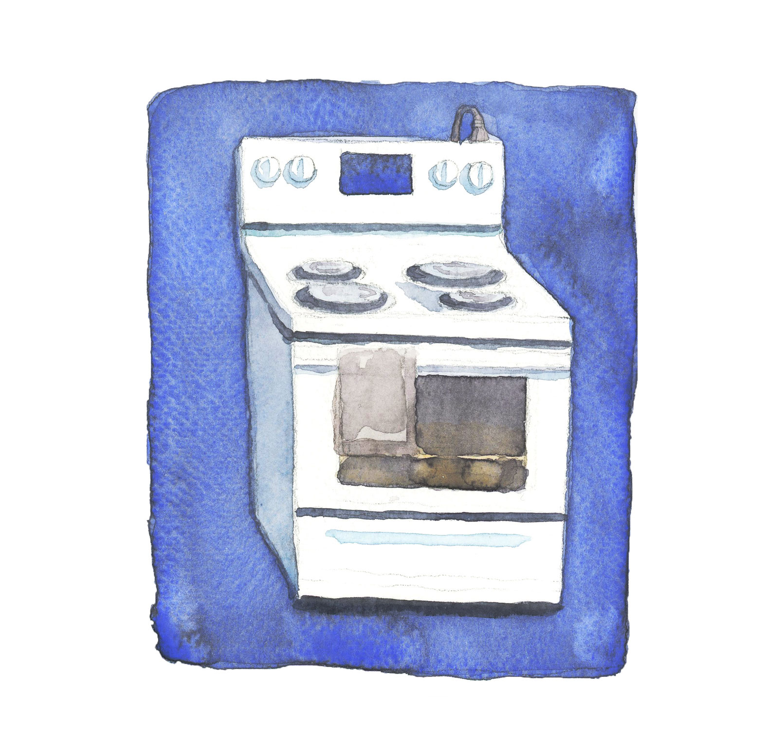 オーブンのお掃除