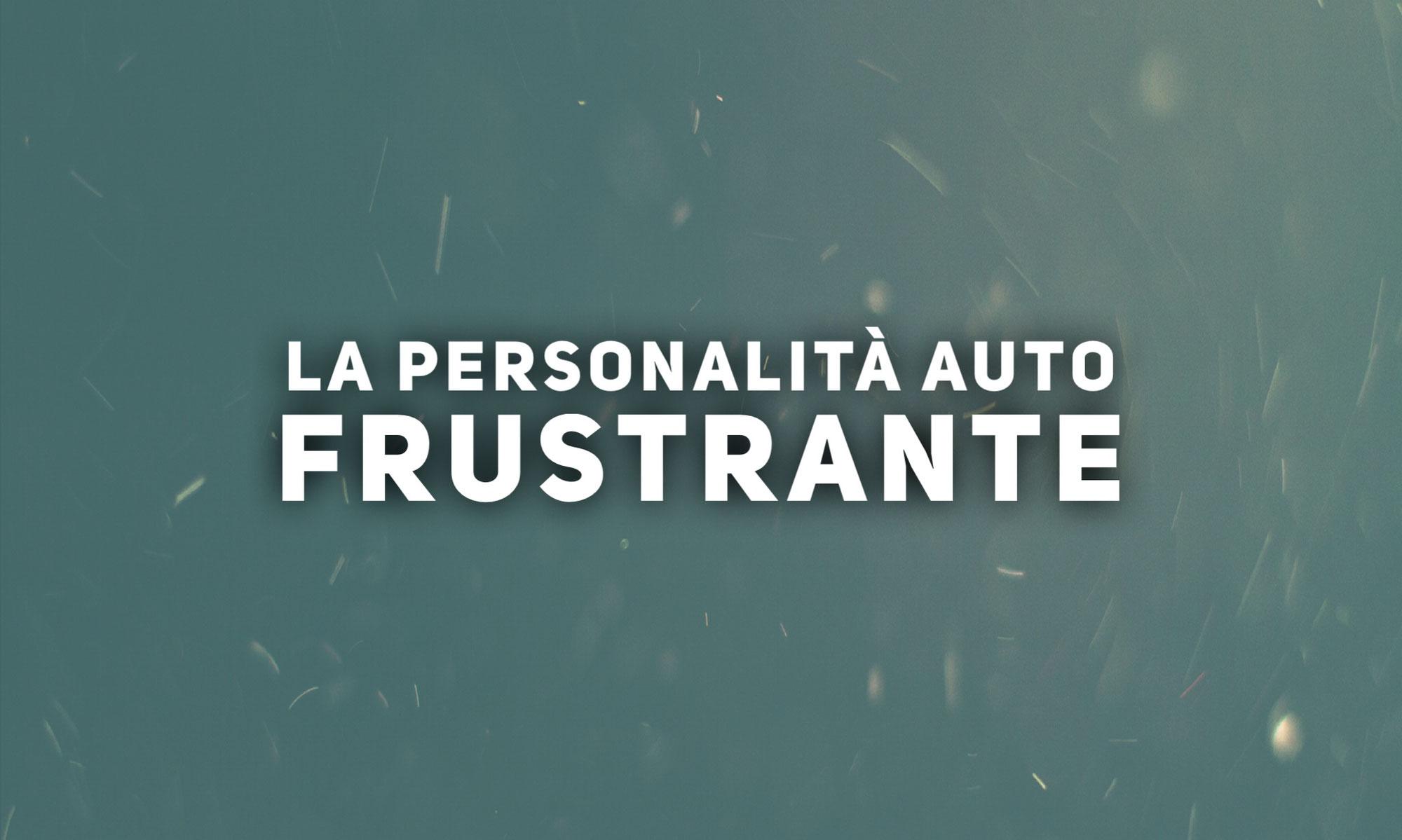 Il Disturbo Auto-Frustrante di Personalità