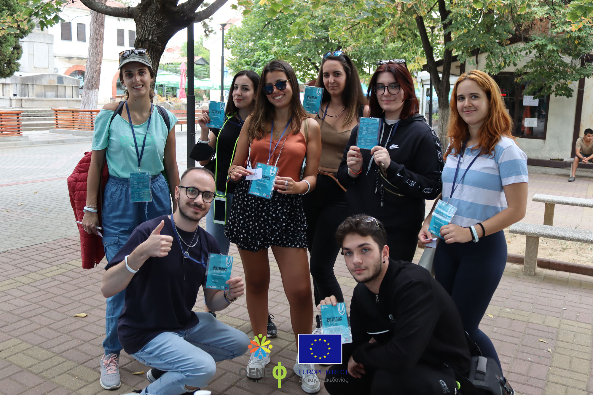 """Ο ΟΕΝΕΦ στο υπαίθριο φεστιβάλ νεολαίας """"Experiencing Cooperation"""""""