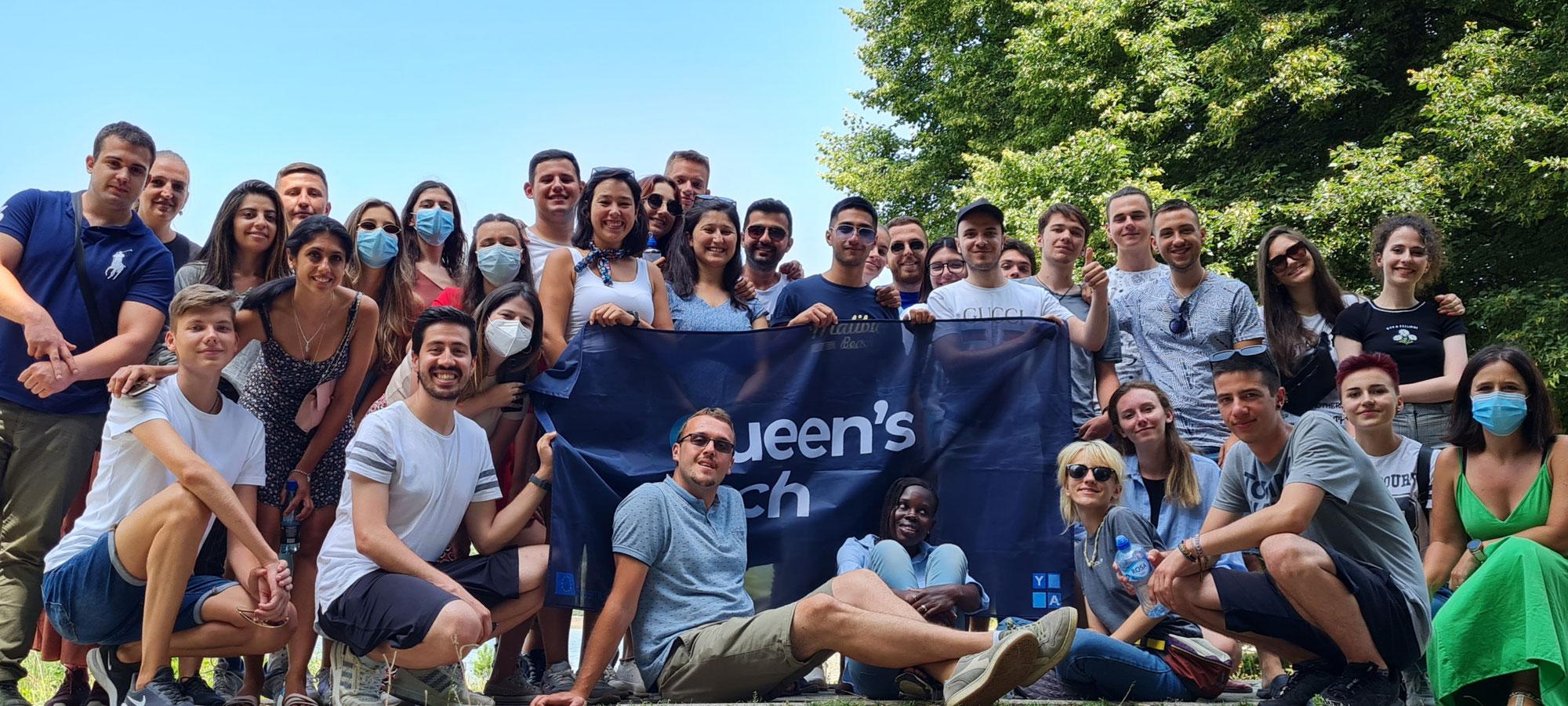 """Ο ΟΕΝΕΦ σε συνεργασία με το """"Youth Alliance Krusevo - YAK"""" ολοκλήρωσε το Σχέδιο """"Queen's Tech"""" του προγράμματος Erasmus+."""