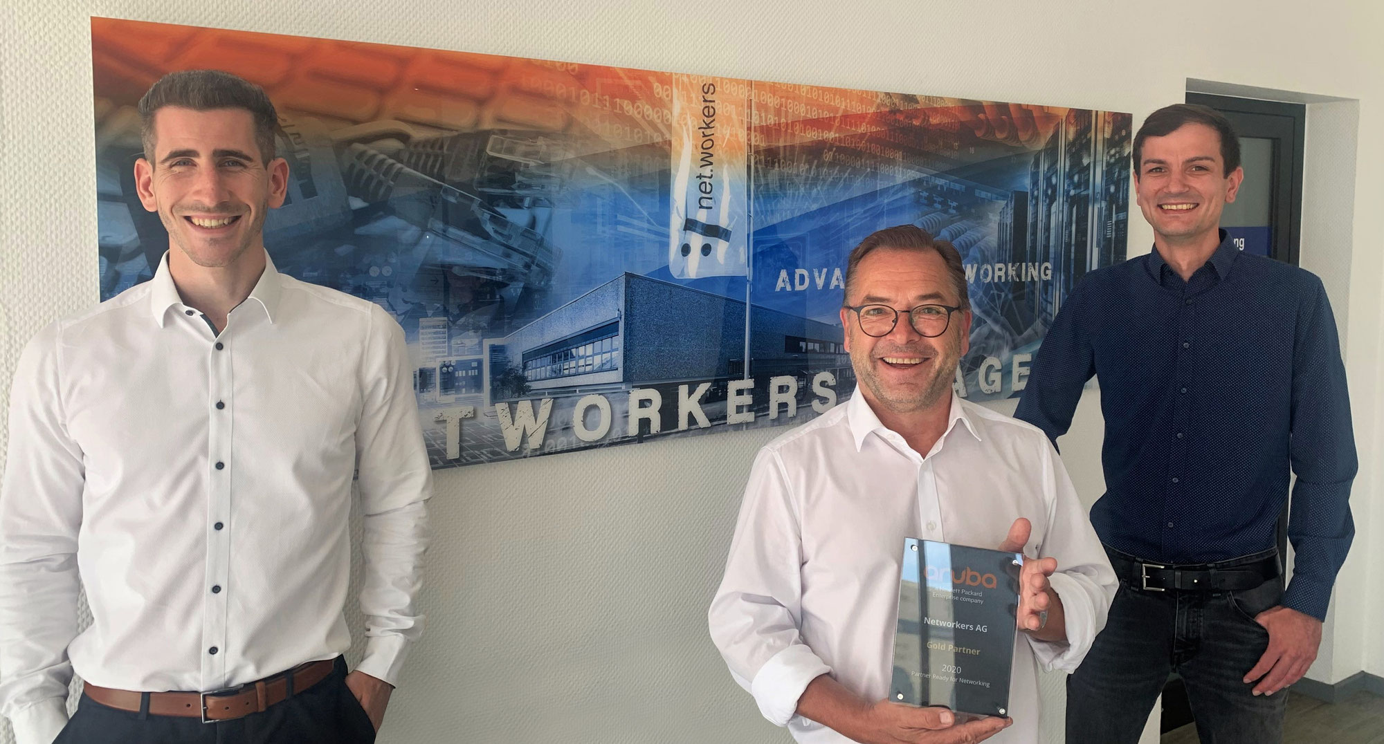 Networkers ist GOLD Partner 2020