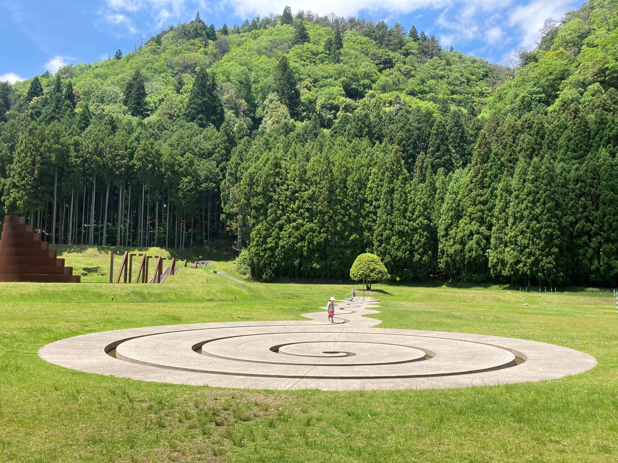 室生山上公園芸術の森でお散歩