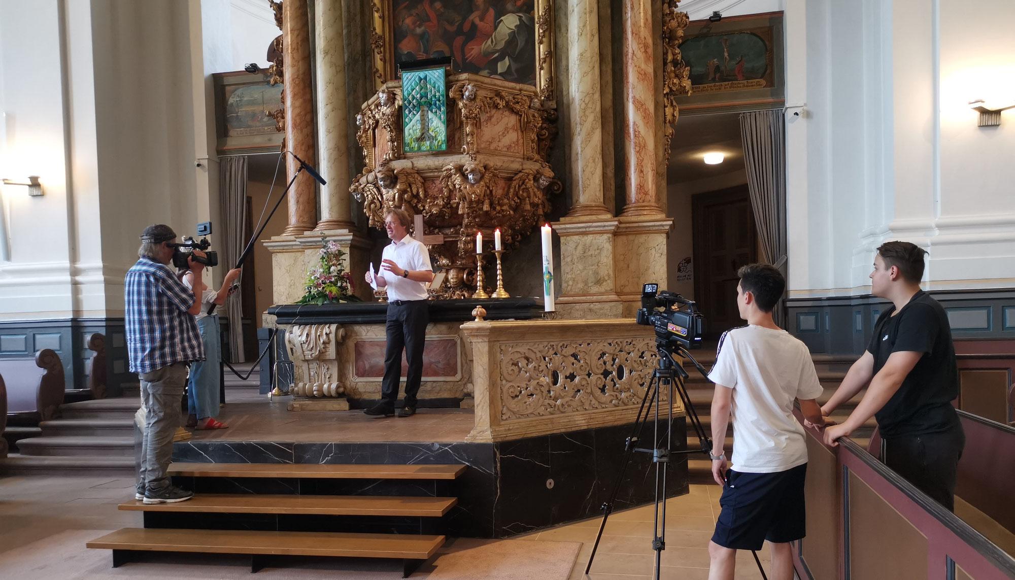 Film: Die Weilburger Schlosskirche mit historischen Spielszenen