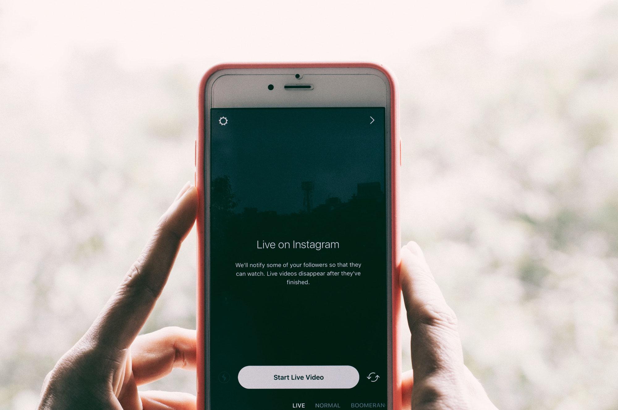 Instagram Hack - Instagram live Videos und Text