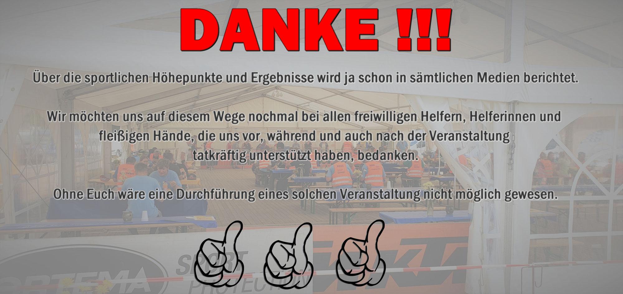 DANKE FÜR EIN TOLLES MX-WOCHENENDE