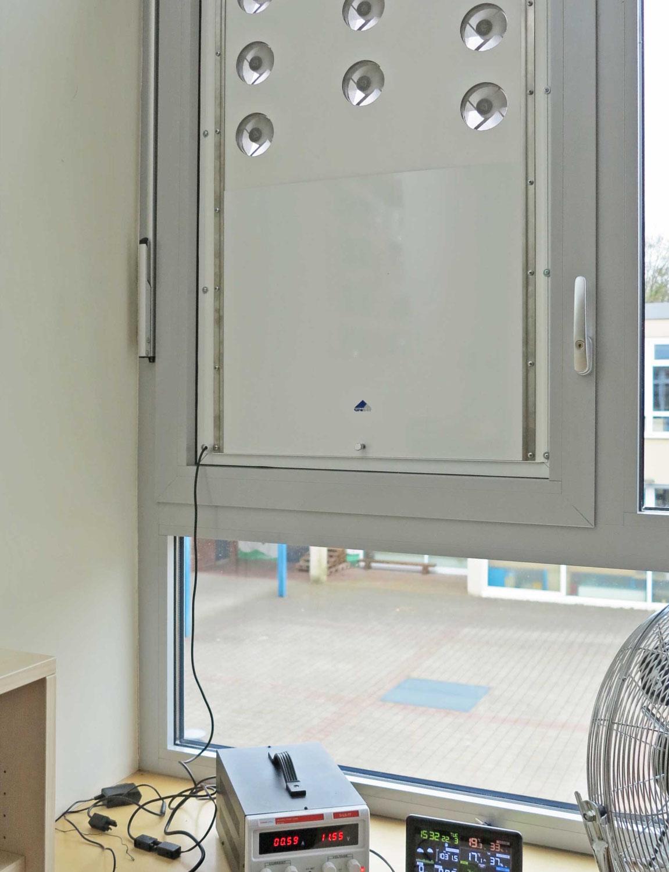 OJW-Experten übergeben Gutachten zur Wirksamkeit einer neuartigen Lüftungseinrichtung für Klassenzimmer und Büroräume