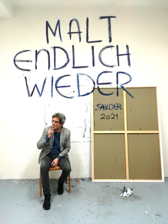 """Martin Sander // """"Malt endlich wieder"""" // 1.10.21"""