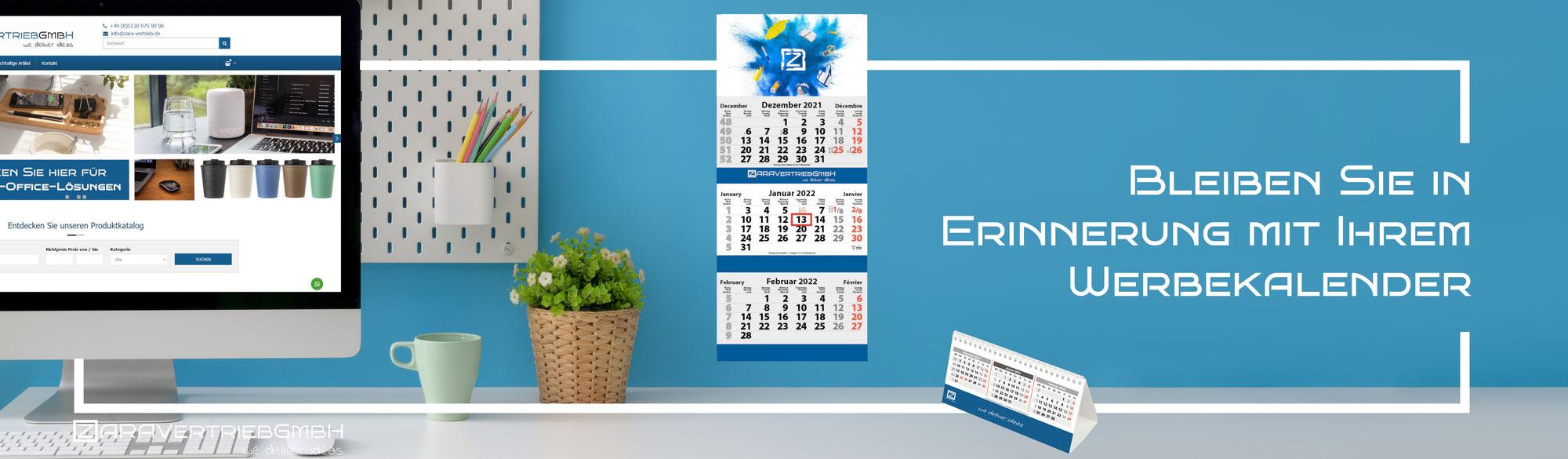 Werbe-Kalender in Ihrem Design