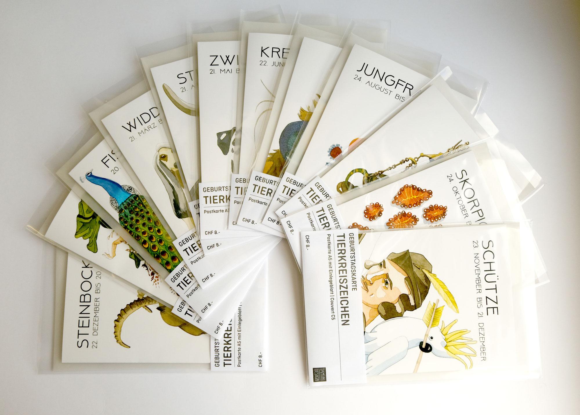 Postkartenverkauf und meet the artist