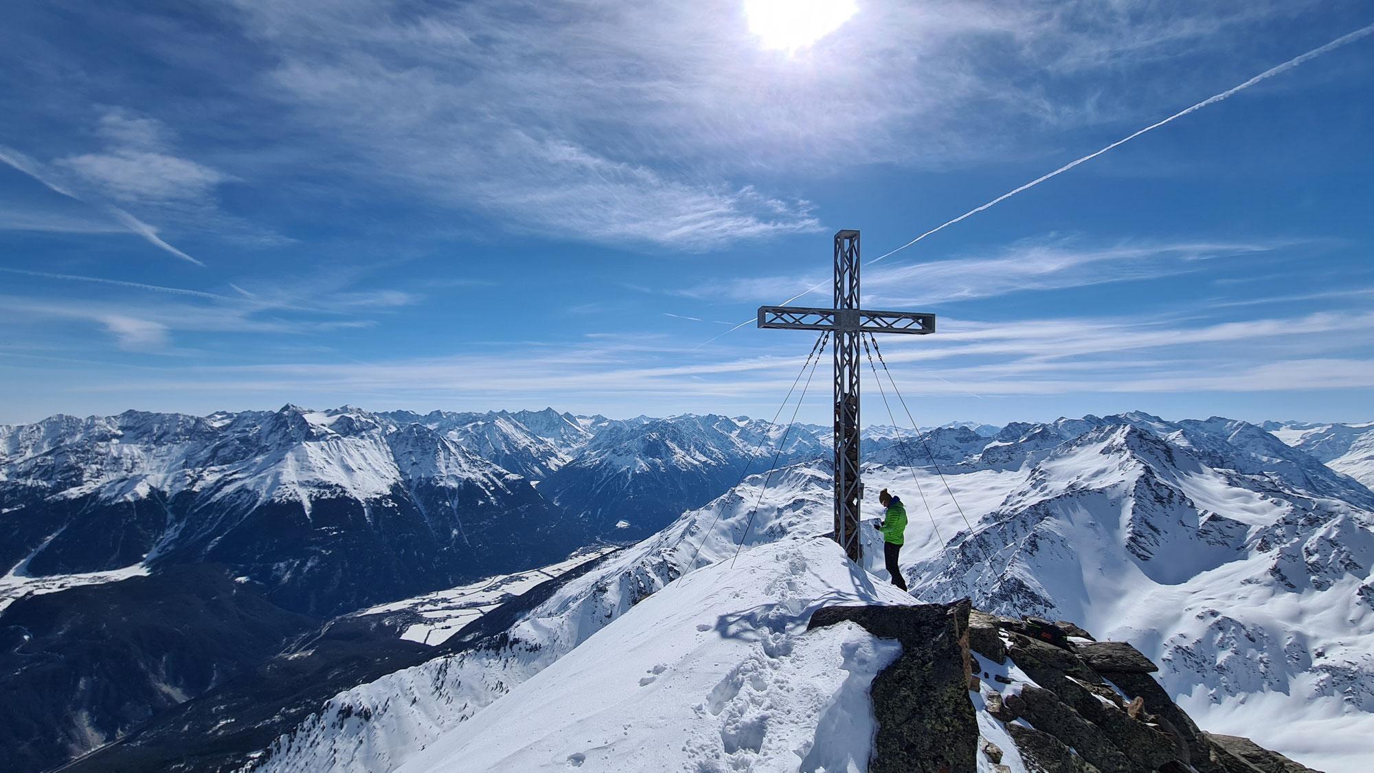 #802 Skitour Fundusfeiler & Südlicher Lehner Grieskogel