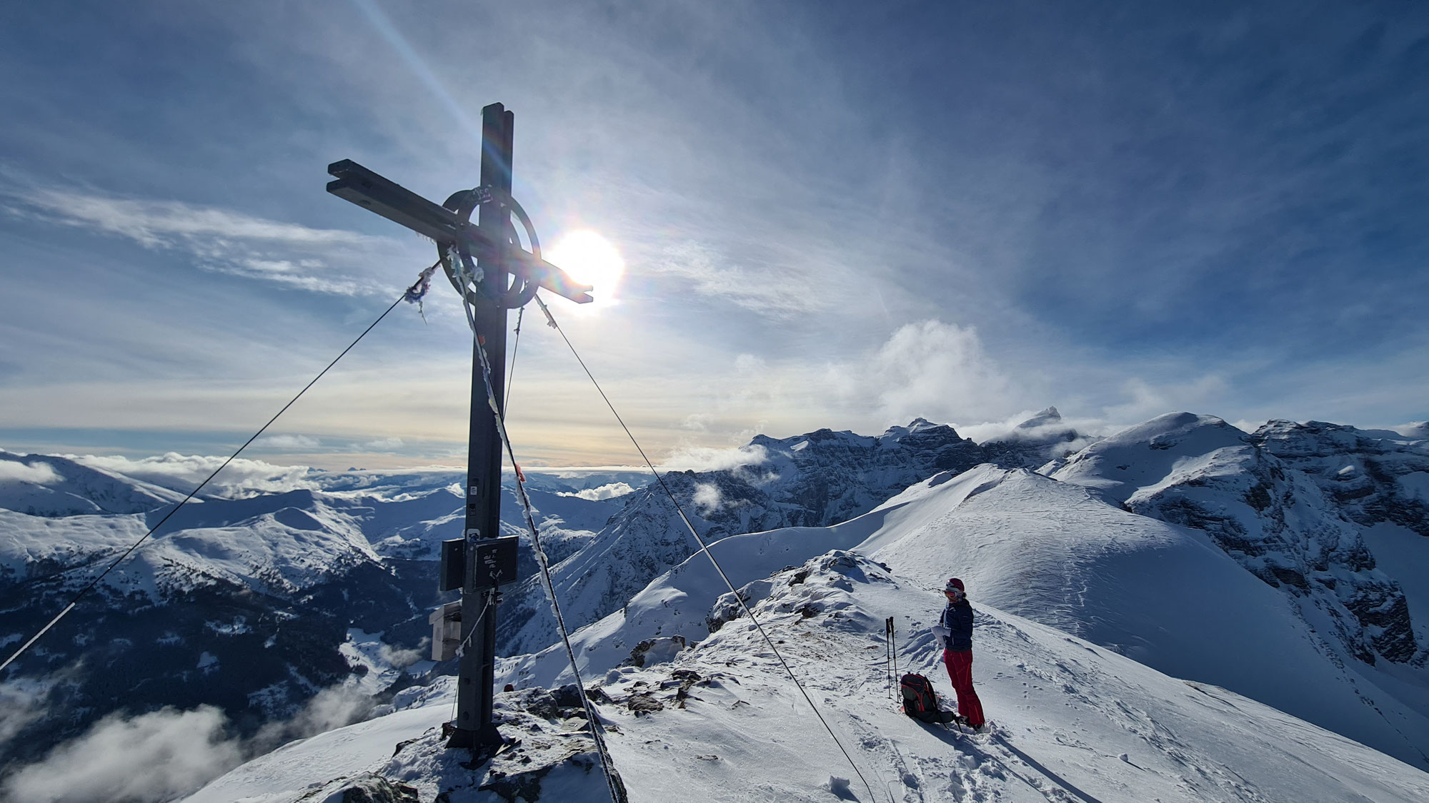 #753 Skitour Rötenspitze