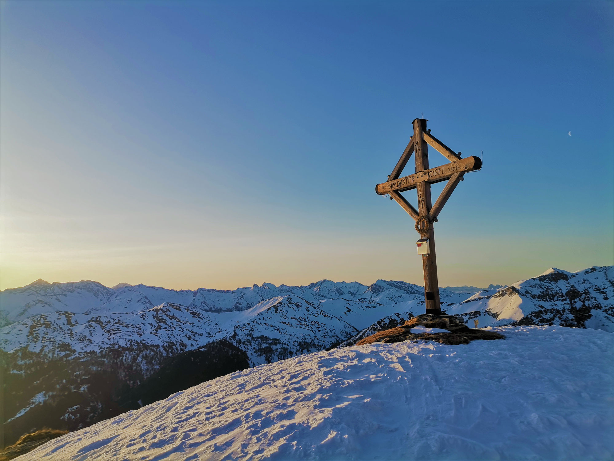 #795 Skitour Padasterkogel