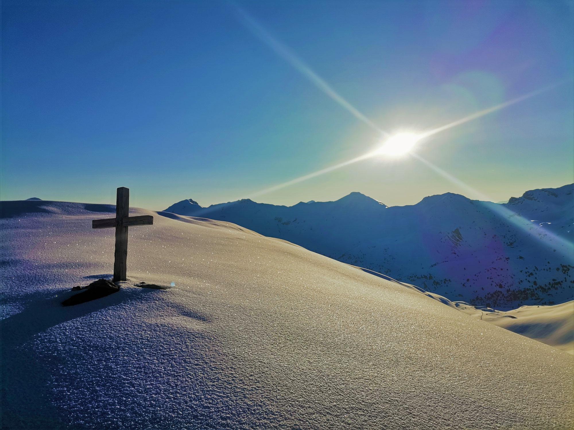 #808 Skitour Mölser Skispitzl