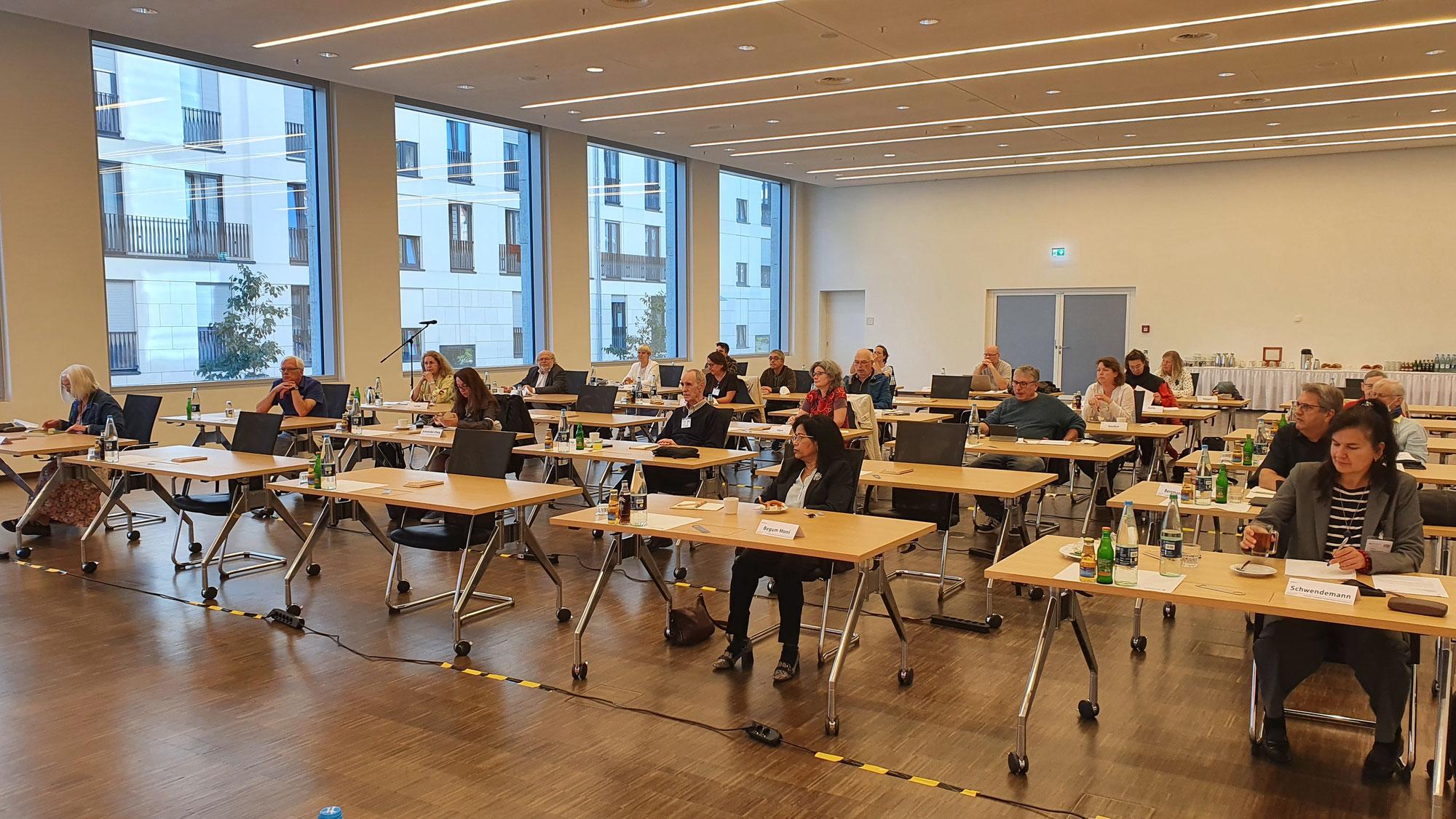 Endlich wieder in Präsenz: Die Mandatsträgerkonferenz in Stuttgart