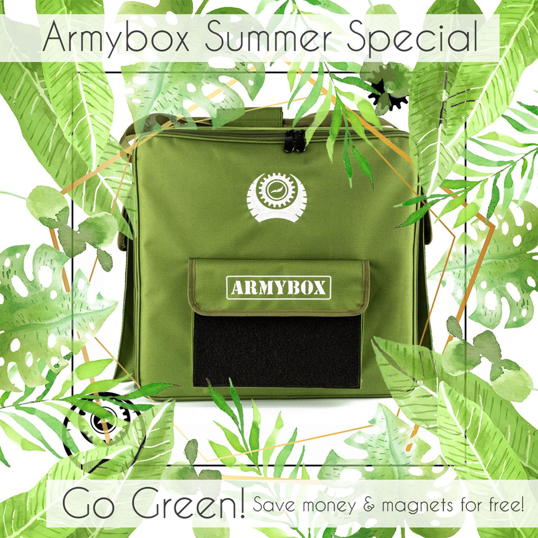 Go Green & save money!