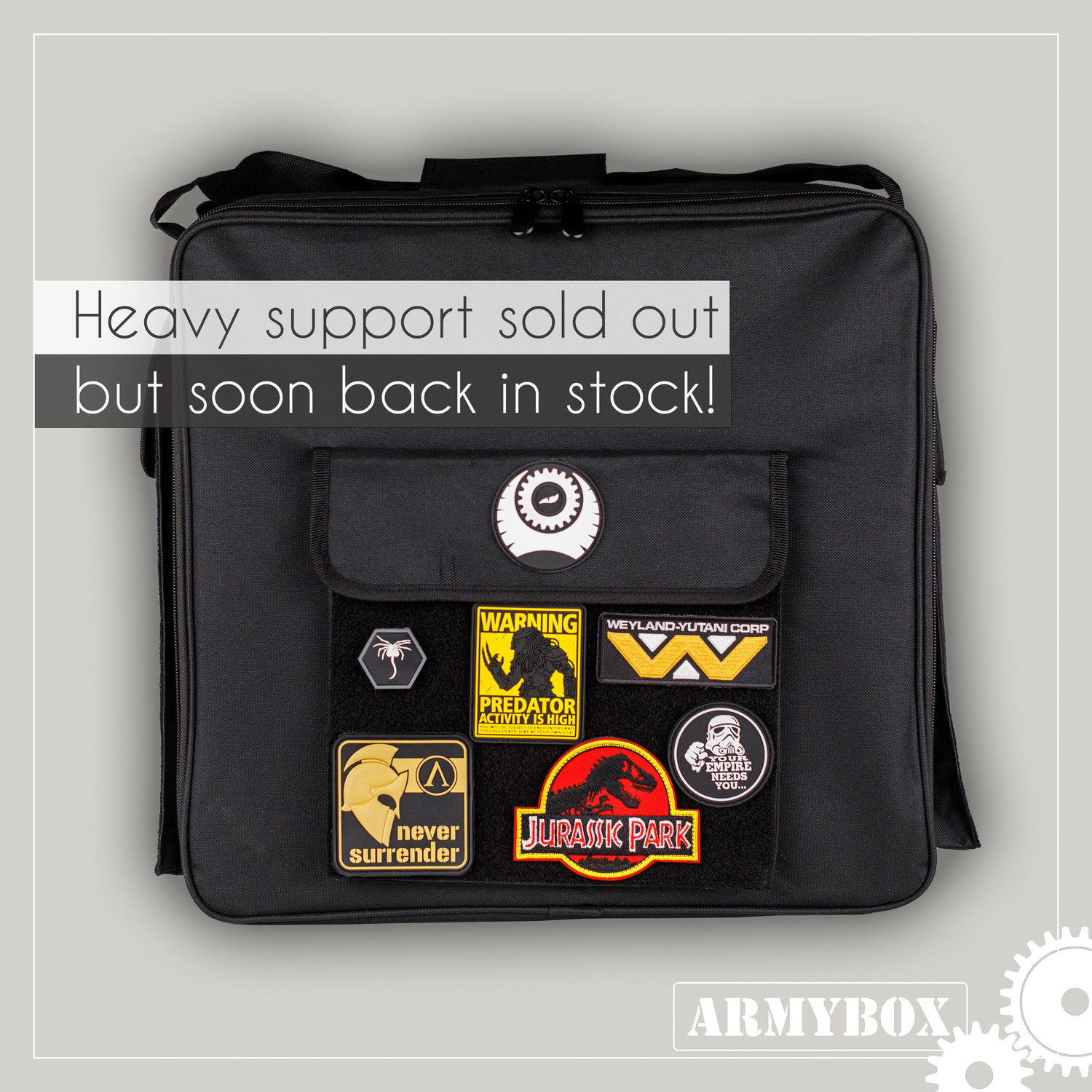 Heavy Support sold out - soon back in stock
