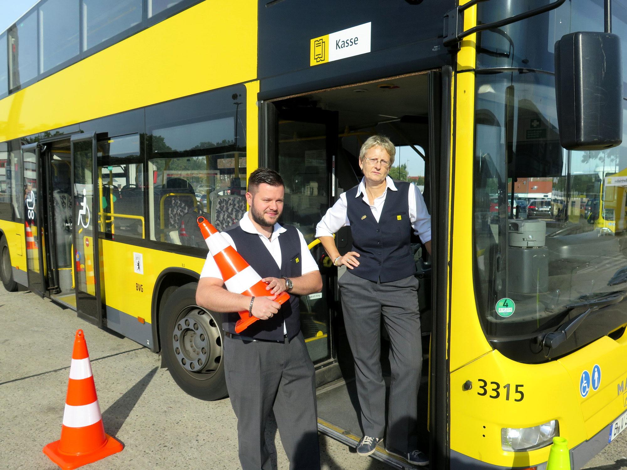 Vordereinstieg bei den BVG-Bussen in Berlin startet wieder
