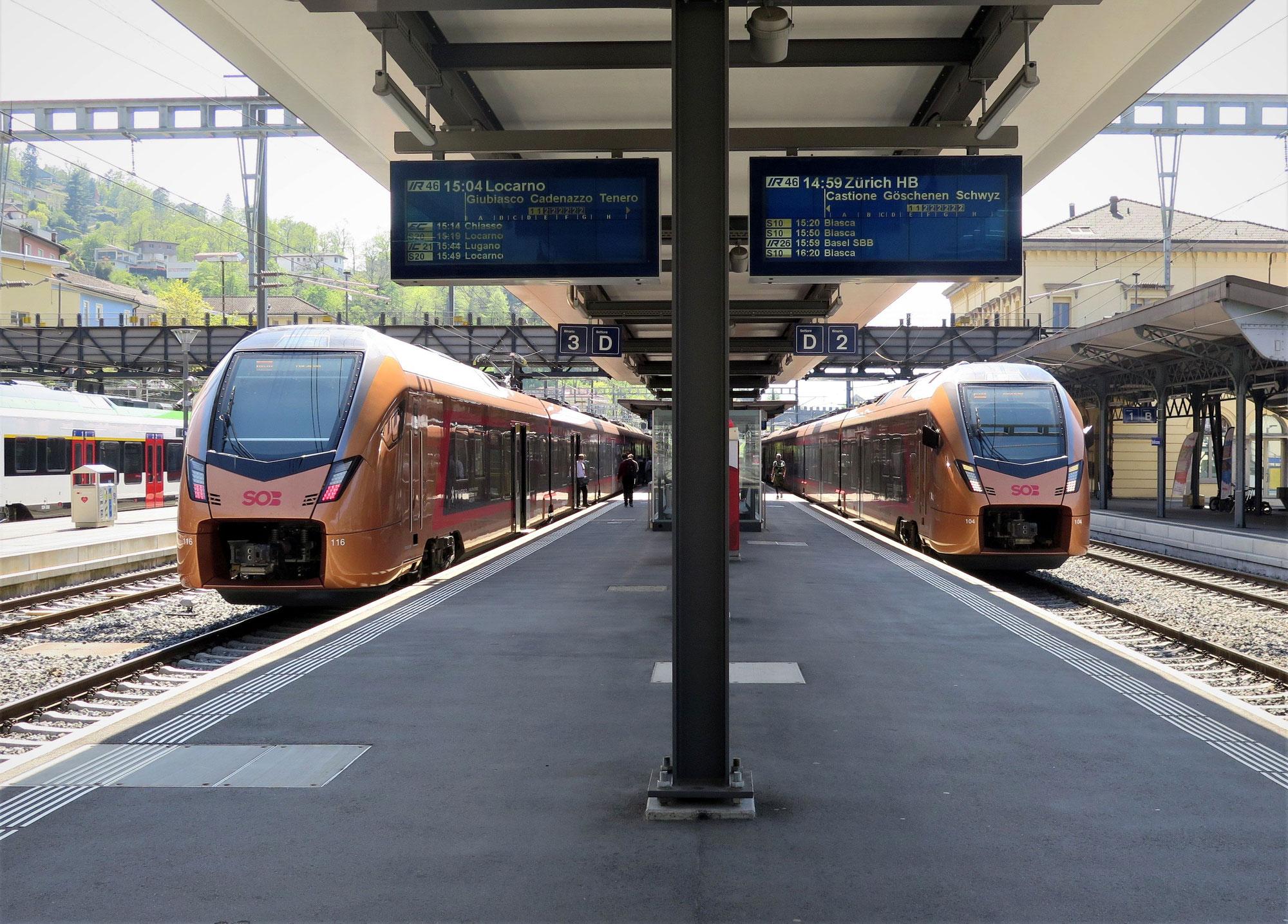 Start in den Fernverkehr und Coronapandemie prägen SOB-Geschäftsjahr 2020