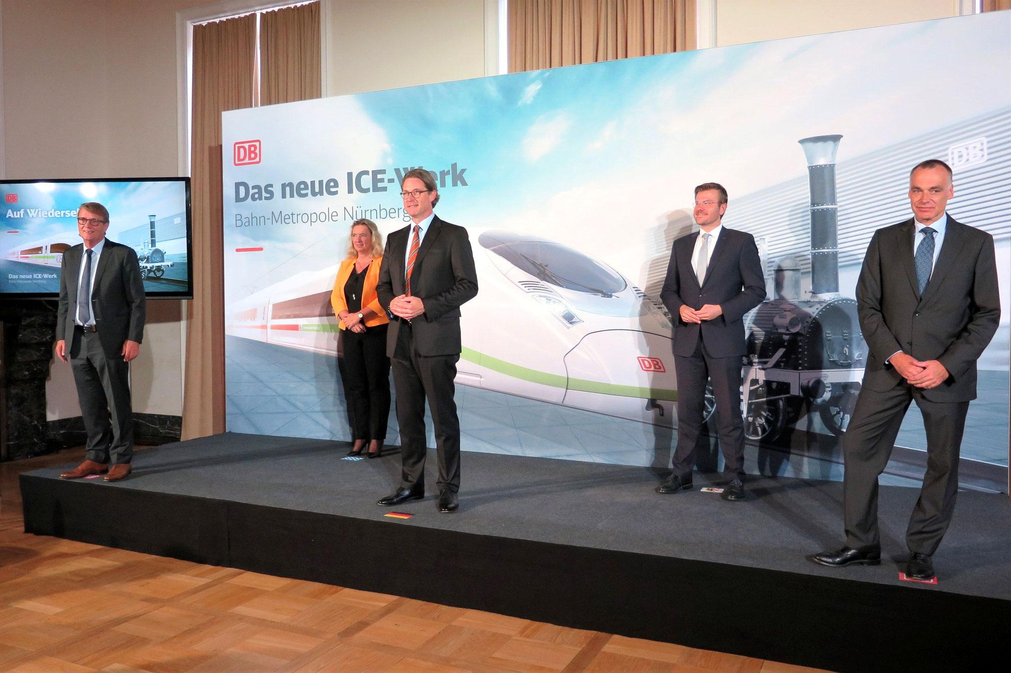 ICE-Werk Nürnberg: Standortsuche geht in die nächste Phase