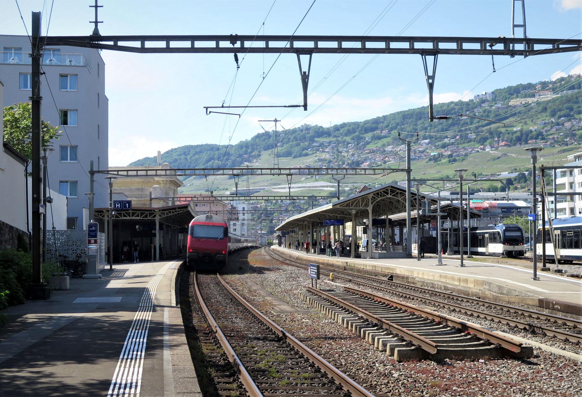 Fahrplanänderungen zwischen Lausanne und Brig vom 19. Juli bis 15. August 2021