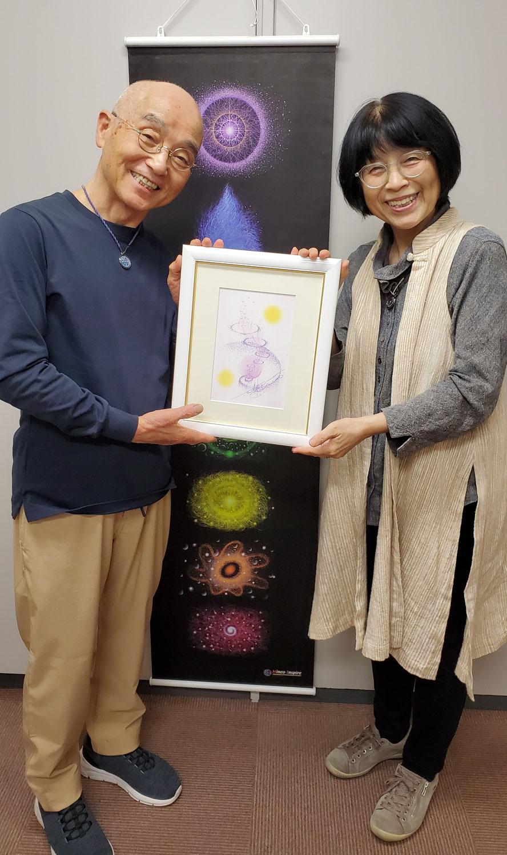 秋山峰男先生 魂の肖像画