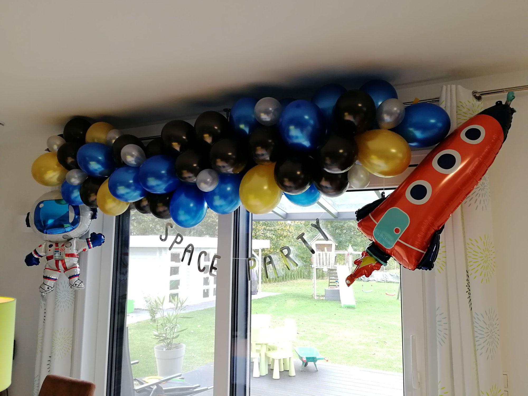 Weltraum Geburtstag - Spacige Ideen für deine Weltraum Party