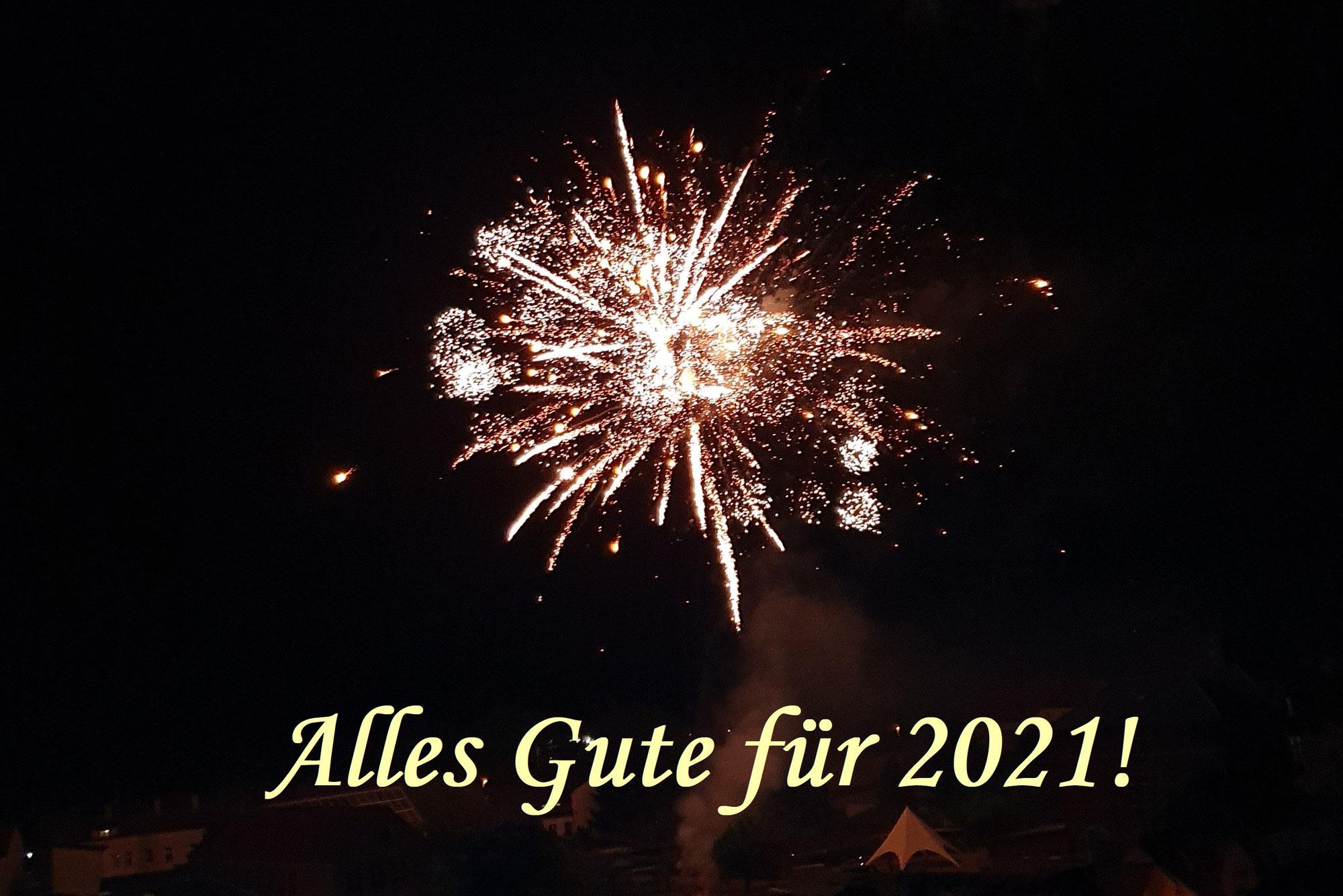 Alles Gute für 2021!