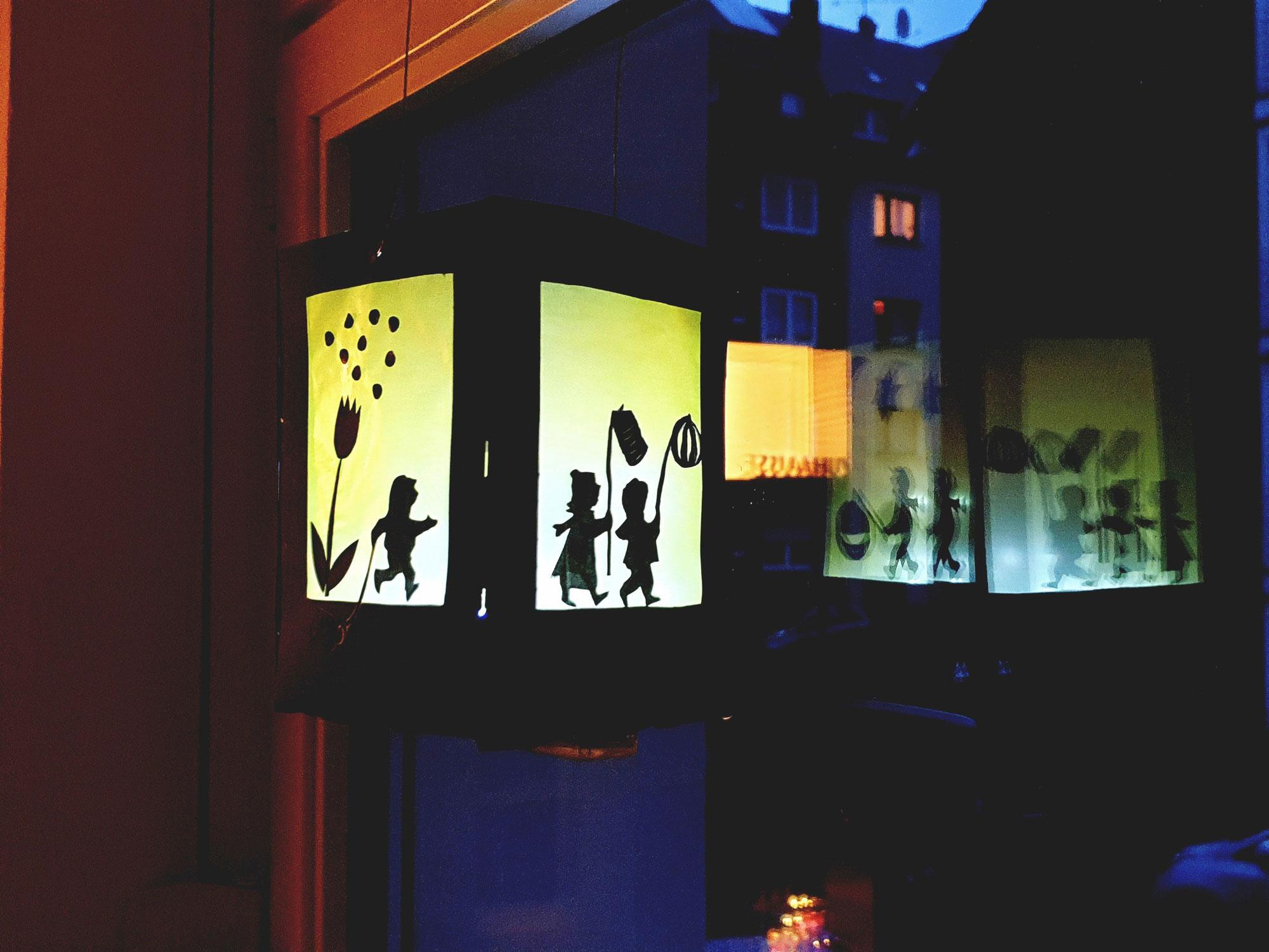 Laternen Fenster