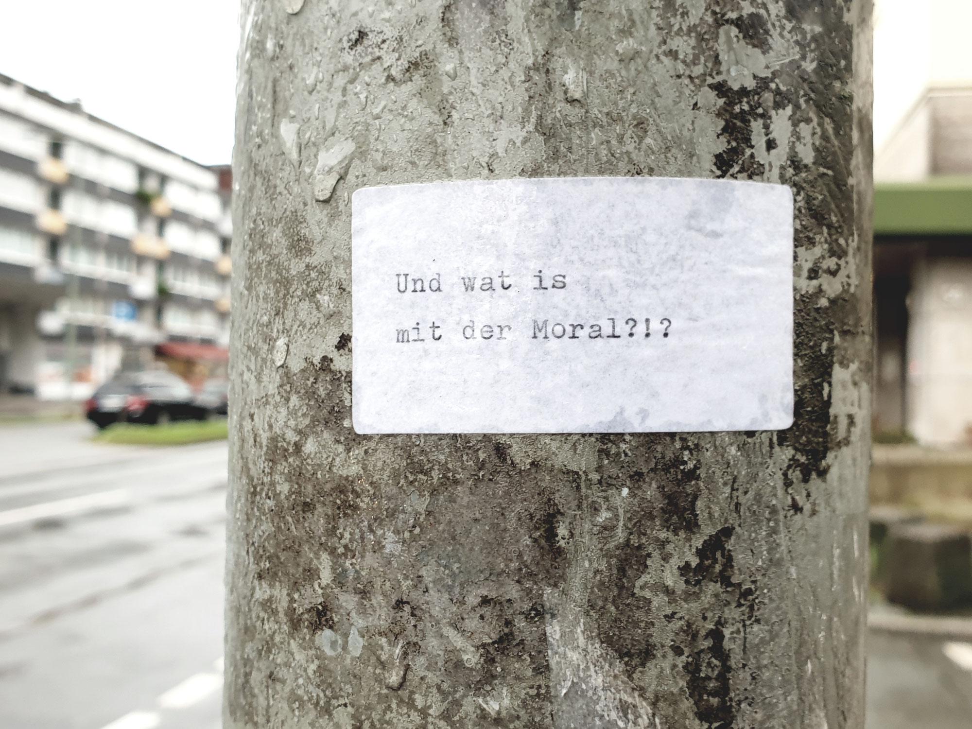 Unversteckte Botschaften ...