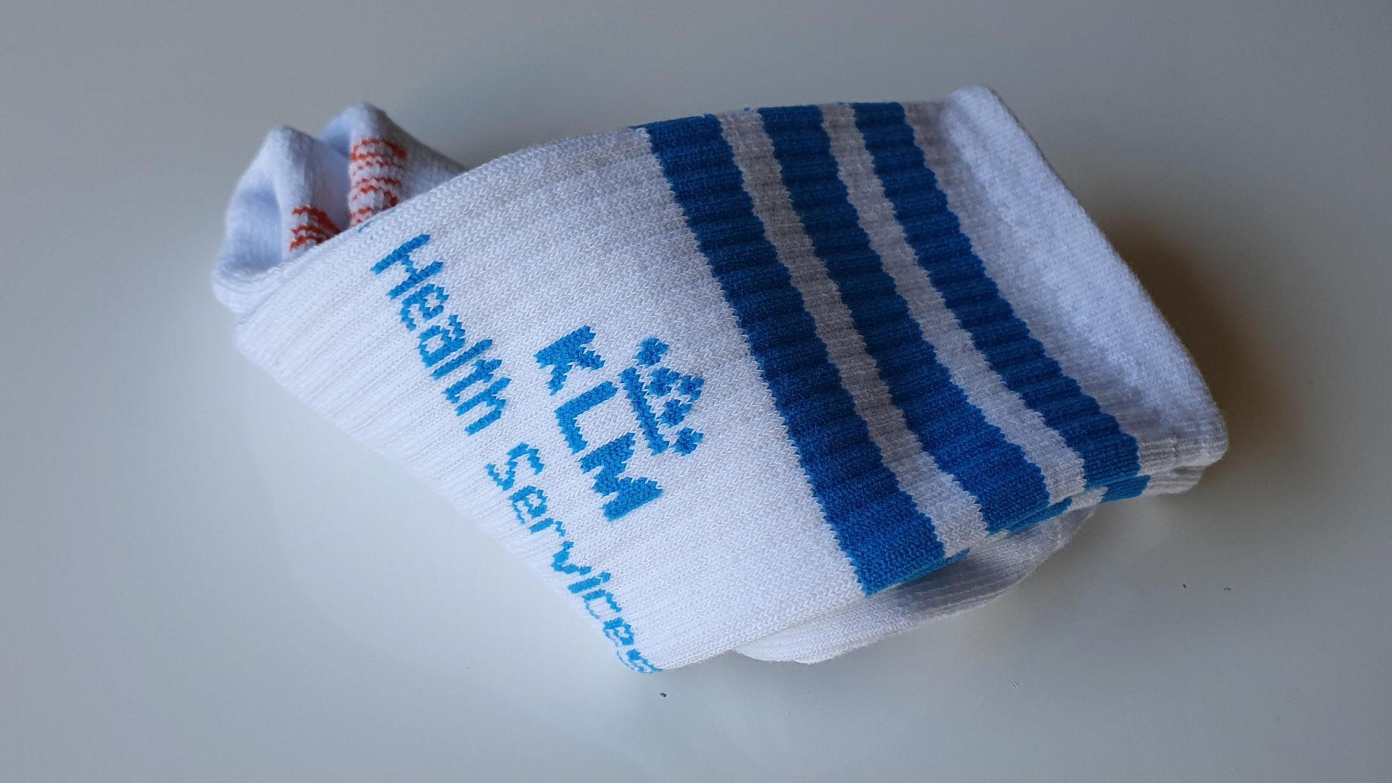 KLM Sokken met logo