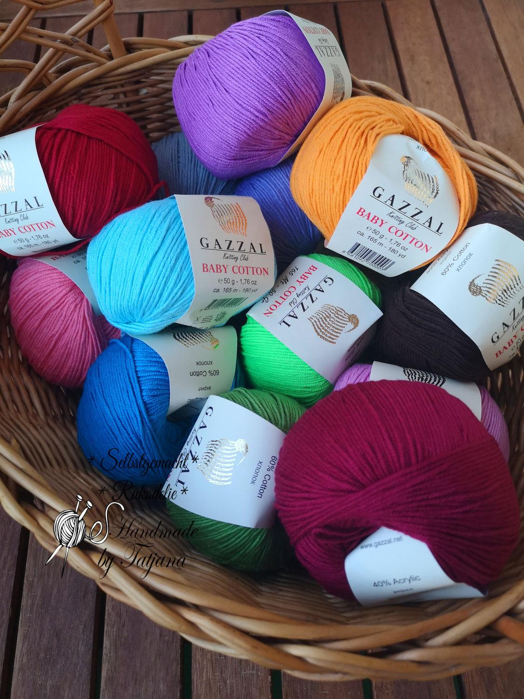 Gazzal Baby Cotton - alle 59 Farben im Shop
