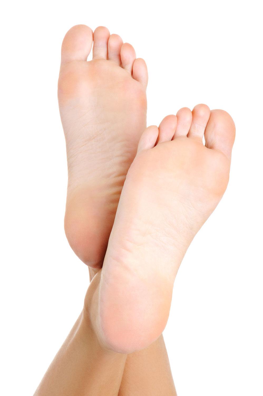 Starker Auftritt mit gesunden Füßen