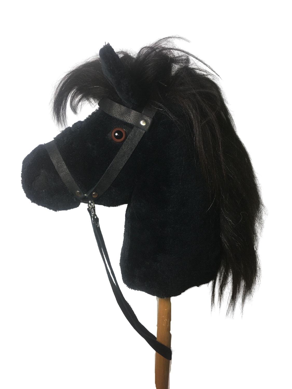 "Steckenpferd ""Tarik"" das schwarze Pferd"