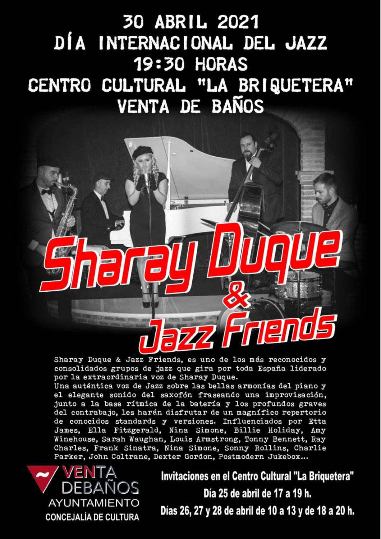 Concierto de Sharay Duque & Jazz Friends en Venta De Baños el 30 de Abril