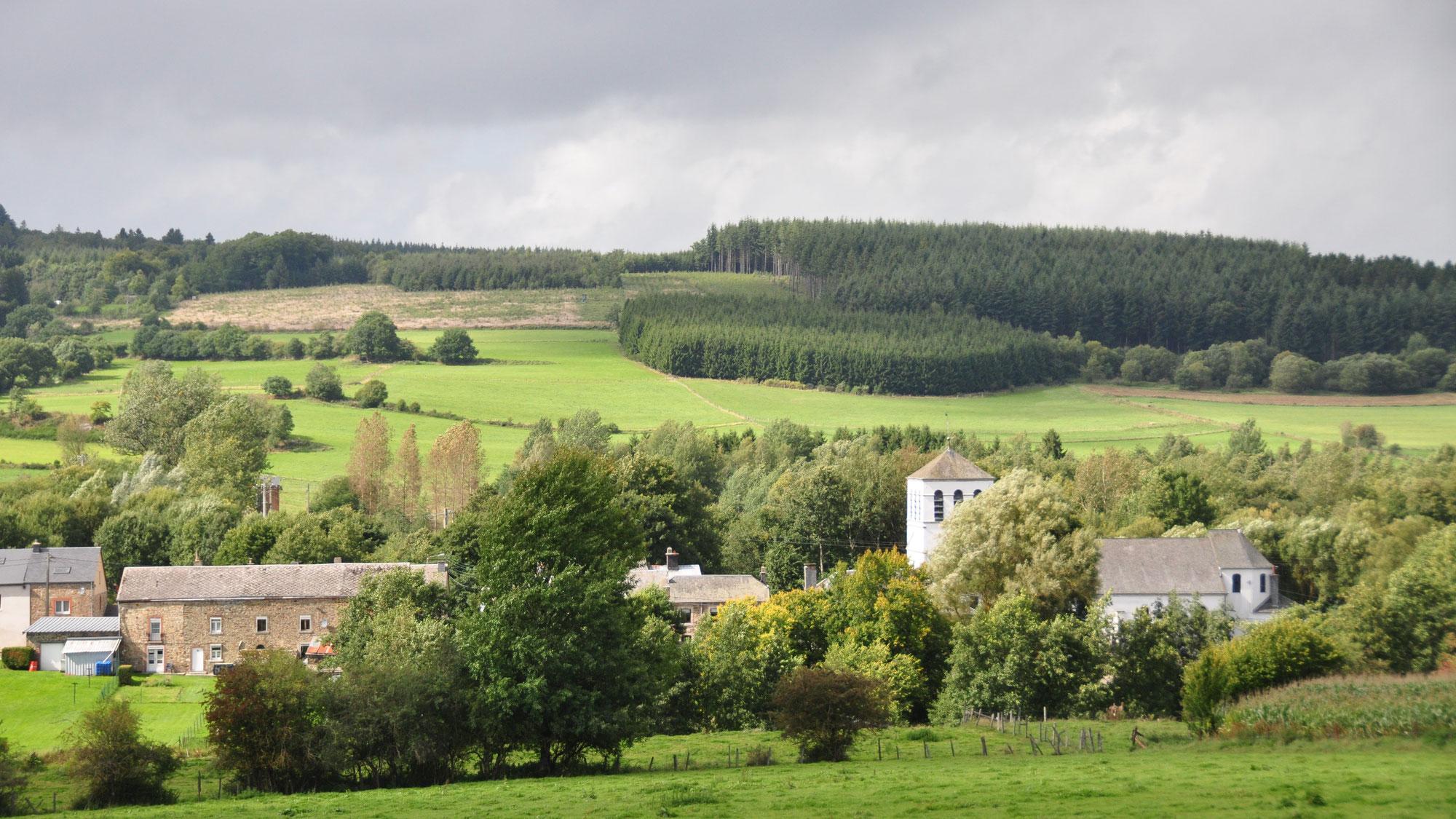 Modification du tracé du GR 14 entre Amberloup et Saint-Hubert  (Etape n° 4.2)