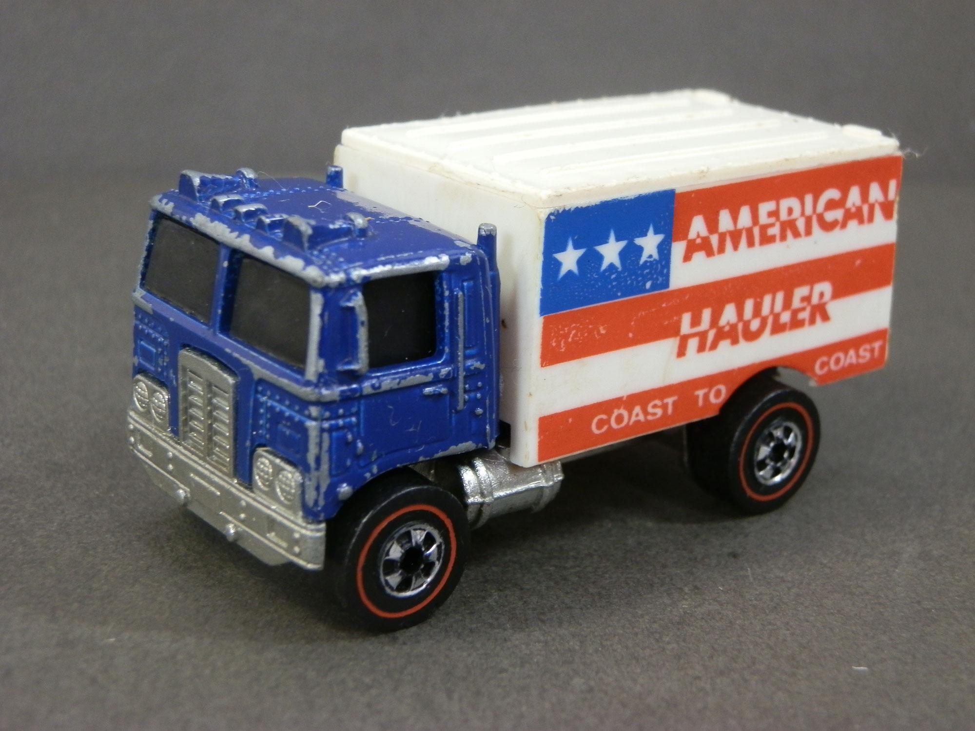 【ミニカー買取】ホットウィール 香港製/トラック   1973 American Hauler Hong Kong Redline   Hot Wheels Truck|東京都八王子市