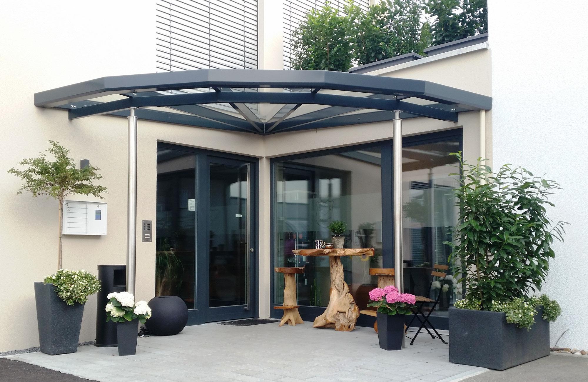 Sympathisch Hausvordächer Dekoration Von Original Rmf Vordach Gmbh - Original -