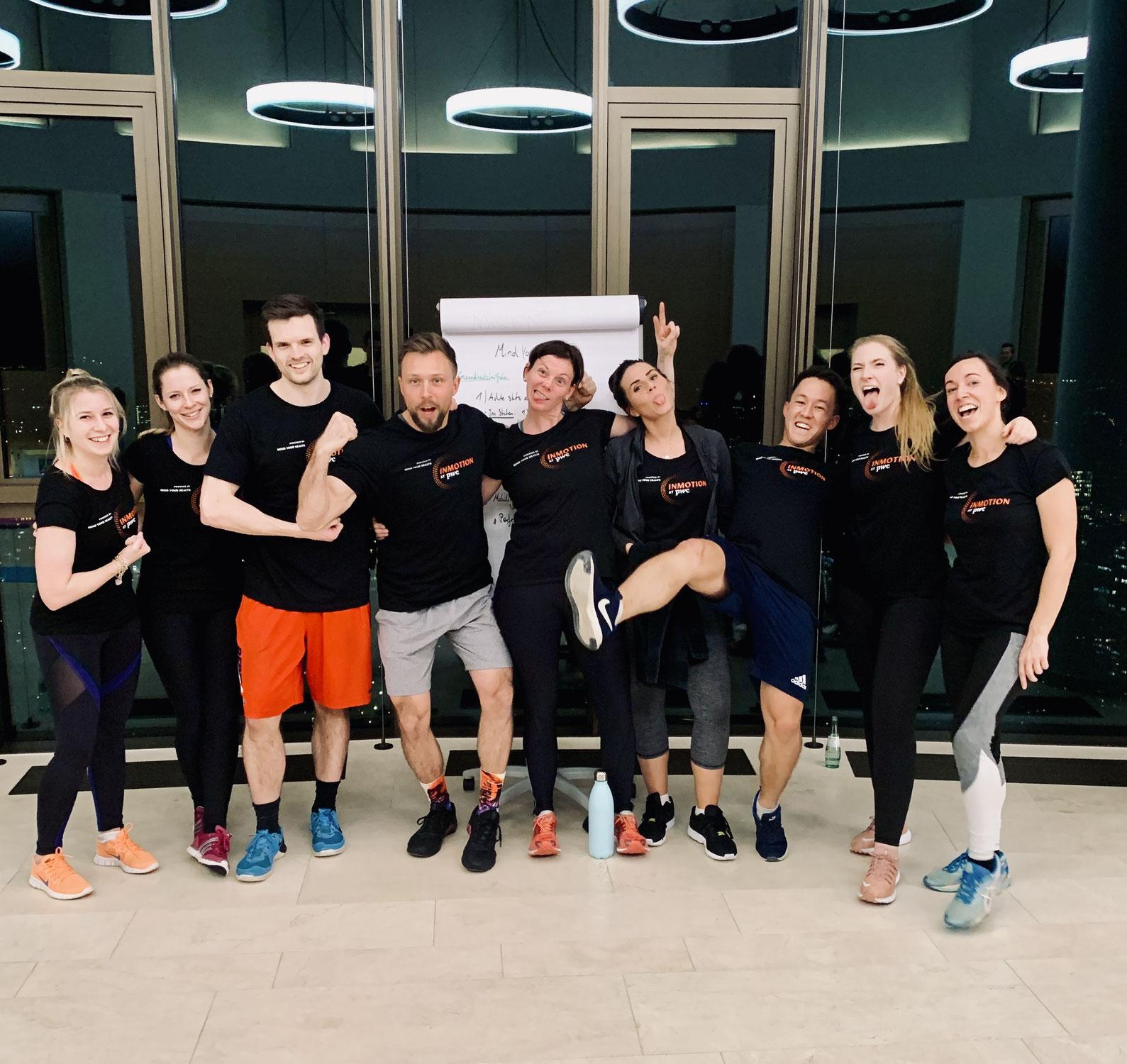 """Firmen Fitness - """"INMOTION"""" - powered bei BKK_PwC & Gesundheitstrainer Christoph Wieloch"""