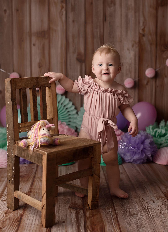 Leni wird 1 - Fotoshooting zum 1. Geburtstag